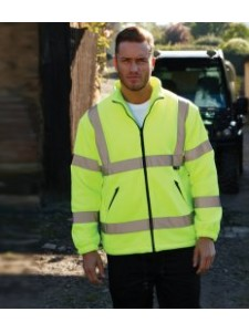 Warrior Hudson Hi-Vis Fleece Jacket